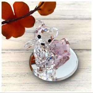 Swarovski Crystal Figurine Kris Bear With You